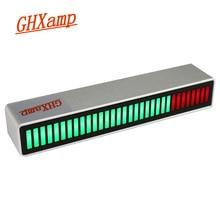 32 Bit wskaźnik poziomu audio z mikrofonem akwizycji sygnału automatyczne wzmocnienie VU metr czerwony zielone kolory mieszane DC 5V 1pc GHXAMP