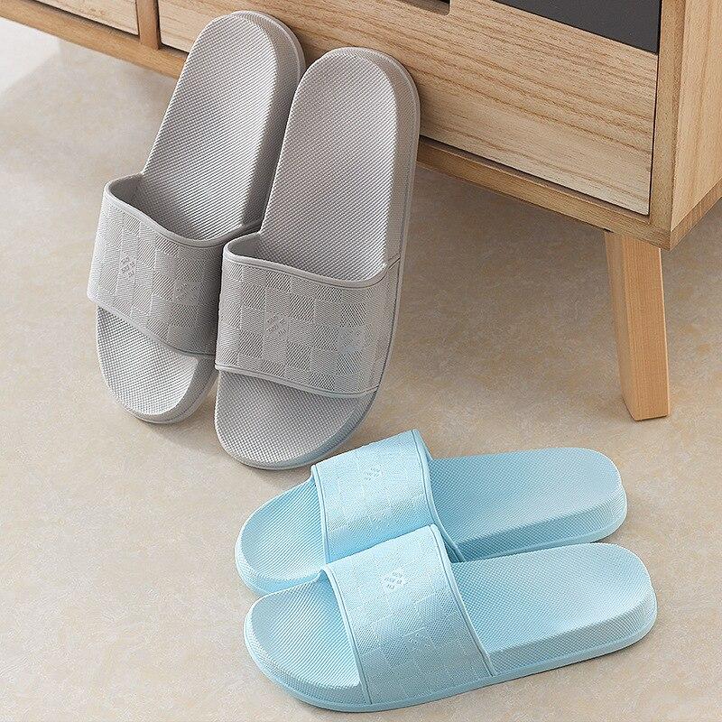 Pantoffel Männer Und Frauen Paare Neue Stil Herbst Hause Koreanische-stil Einfache Indoor Bad Sandalen