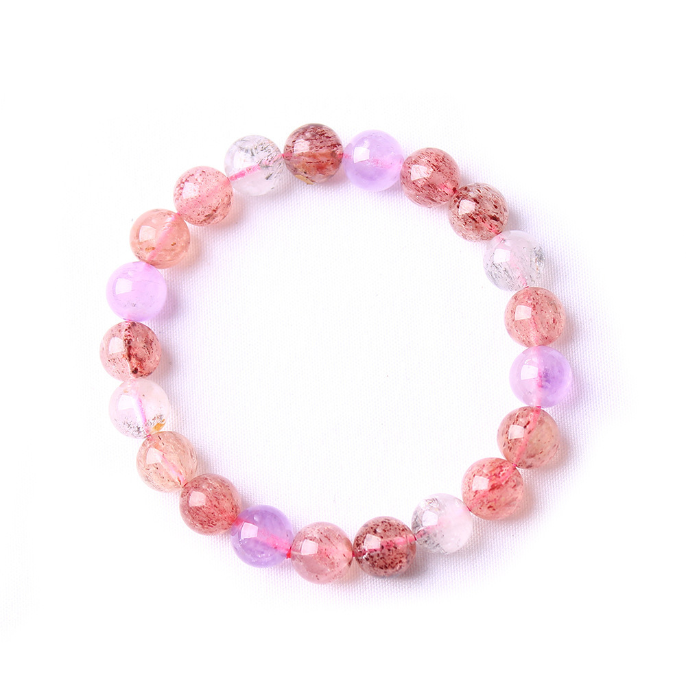 Natural Auralite 23 Bracelet For Women Man Super 7 Melody Crystal Stretch Canada Round Beads Fashion Jewelry AAAAA 8mm 9mm