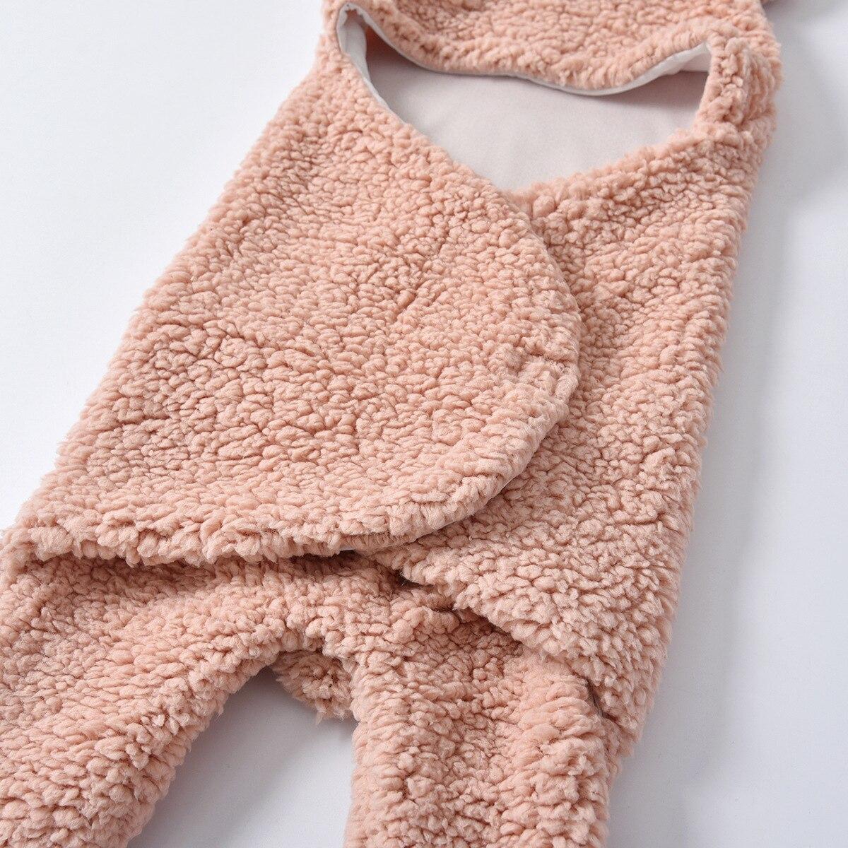 Primavera outono bebê swaddling macio quente cobertor