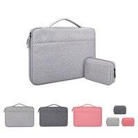 13 14 15 6 zoll Computer Taschen Für Macbook Air 13 Fall HP Kleine Lagerung Tasche Für Laptop Hülse Große kapazität Wasserdichte Anti-knock