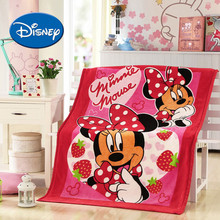 Disney Baby Quilt 100*140 cm Baby Cover Blanket Mickey Minnie Pluto Pooh Soft Appease Blanket Cartoon Kids Bedding Quilt(China)