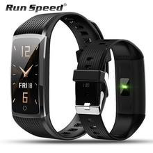 Laufen Geschwindigkeit R12 Smart Band Aktivität Tracker Fitness Armband Mit Druck Messung herz rate monitor für honor band 5 miband