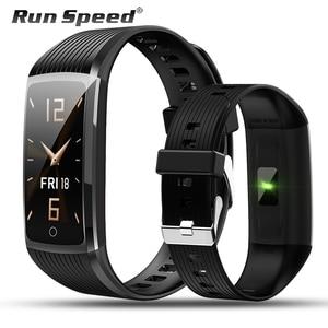 Image 1 - Run Speed R12 สมาร์ท Tracker กิจกรรมฟิตเนสสร้อยข้อมือวัดความดันโลหิต Heart Rate Monitor สำหรับ Honor band 5 miband