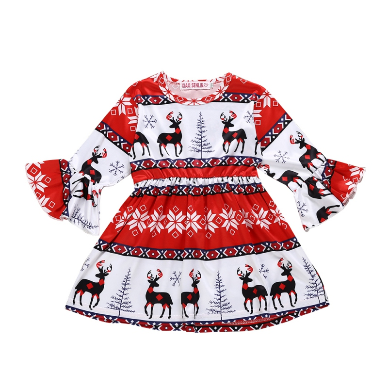 hilittlekids Spring Autumn Casual Fashion Baby Girl Cartoon Printing Long Sleeve Princess Dress Kids 39 Clothing in Dresses from Mother amp Kids