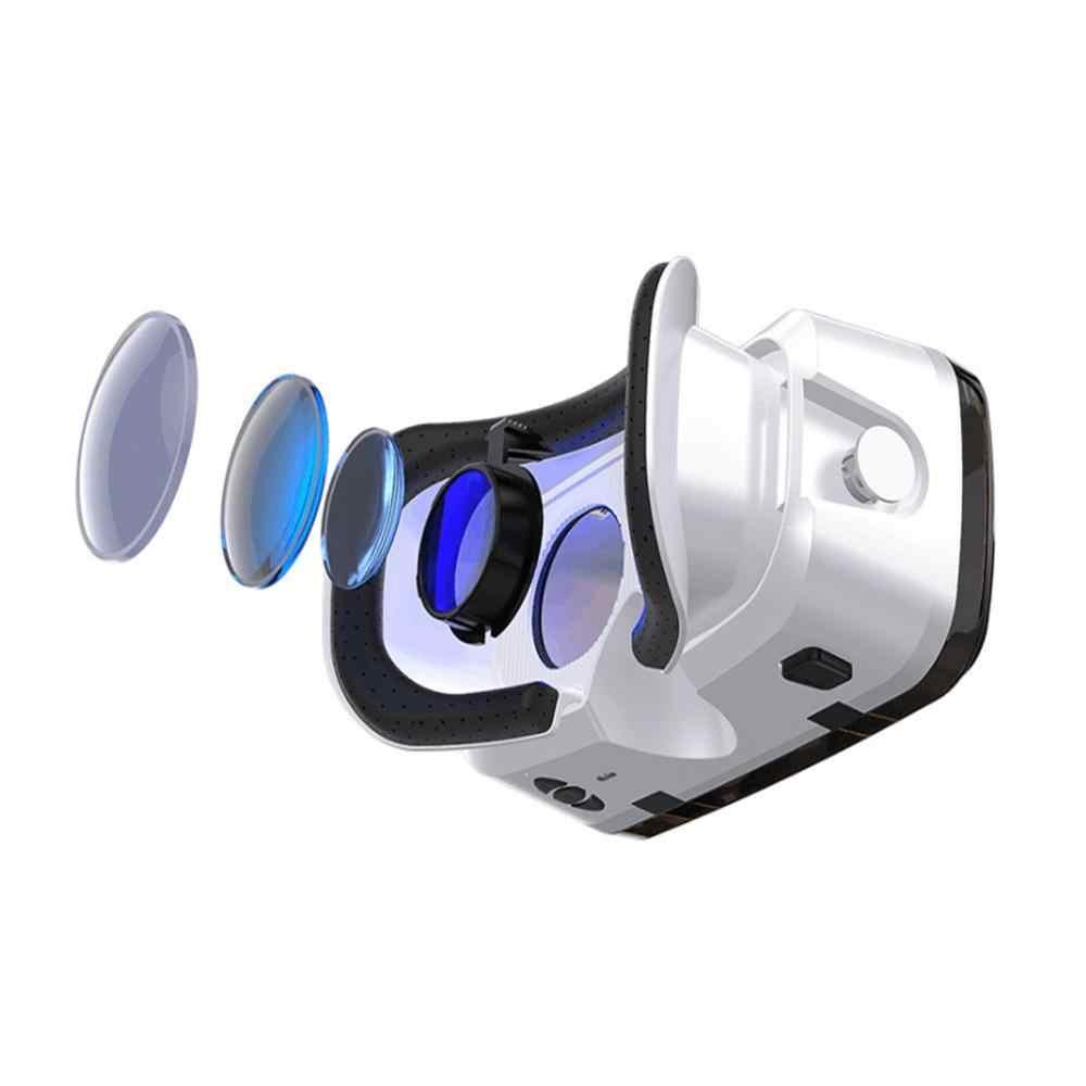 Auriculares de realidad Virtual 3D VR gafas TTV Box VR SHINECON para películas de TV videojuegos para teléfonos iOS Android dentro 3,5-6,0 pulgadas