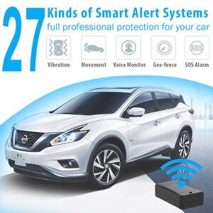 Image 4 - Jimi at4 gps tracker with10000mah bateria forte ímã monitoramento de voz através da plataforma app 2g gms gps localizador para veículo bicicleta
