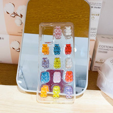 A50 A70 A71 S21 Candy Bears Jelly Phone Case For Samsung Note20 S10 S20Ultra A41 A51 S8P Full Cover Skinny Shell Body Protection