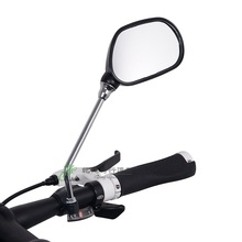 Deemount 1 Pair Bicycle Rear View Mirror Bike Cycling Wide Range Back Sight Reflector Angle Adjustable Left Right Mirrors Part