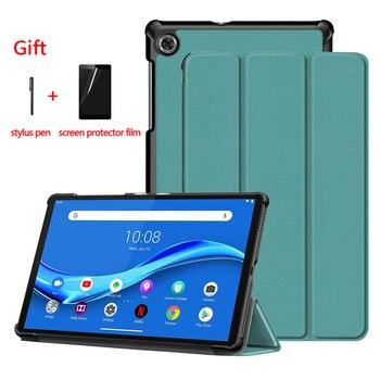 Funda magnética para Lenovo Tab M10 HD 2nd Gen 10,1 pulgadas TB-X306X TB-X605F TB-X505F Tablet caso Lenovo Tab M10 Plus 10,3 pulgadas