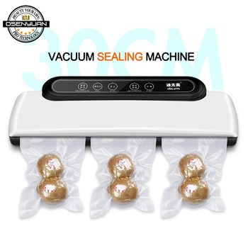2020 New Vacuum Sealer Packer Vacuum Air Sealing Packing Machine For Food Preservation Dry, Wet, Soft Food with Free 10pcs Bags
