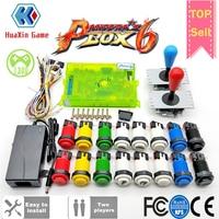 2 Player DIY Arcade Kit Pandora box 6 1300 in 1 game board and 5Pin joystick American HAPP Style Push Button for Arcade Machine