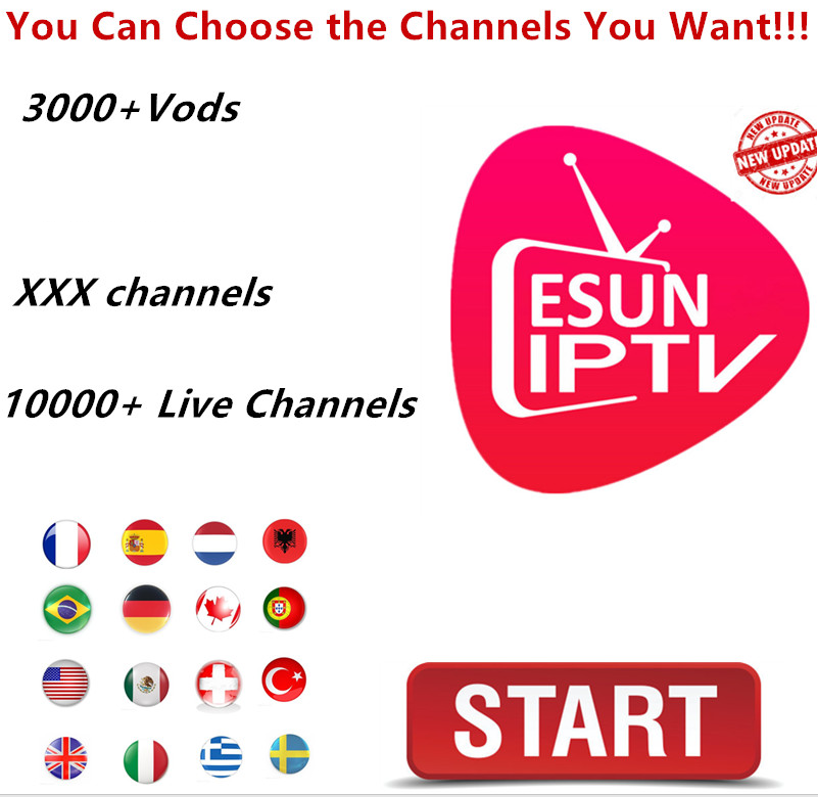 The Most Stable Esun IPTV Xxx Live Channels  Android Tv Box VOD Series Android M3u Enigma2