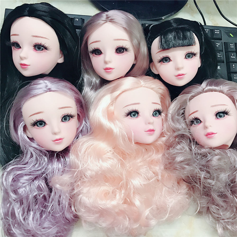 22joints Blue Eyes 60cm Bjd Doll Nude Body With Makeup Dolls For Girls Gift Shoes 22inch Doll Baby Doll Toy