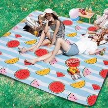 Уличный коврик для кемпинга и пикника утолщенная подкладка дышащее
