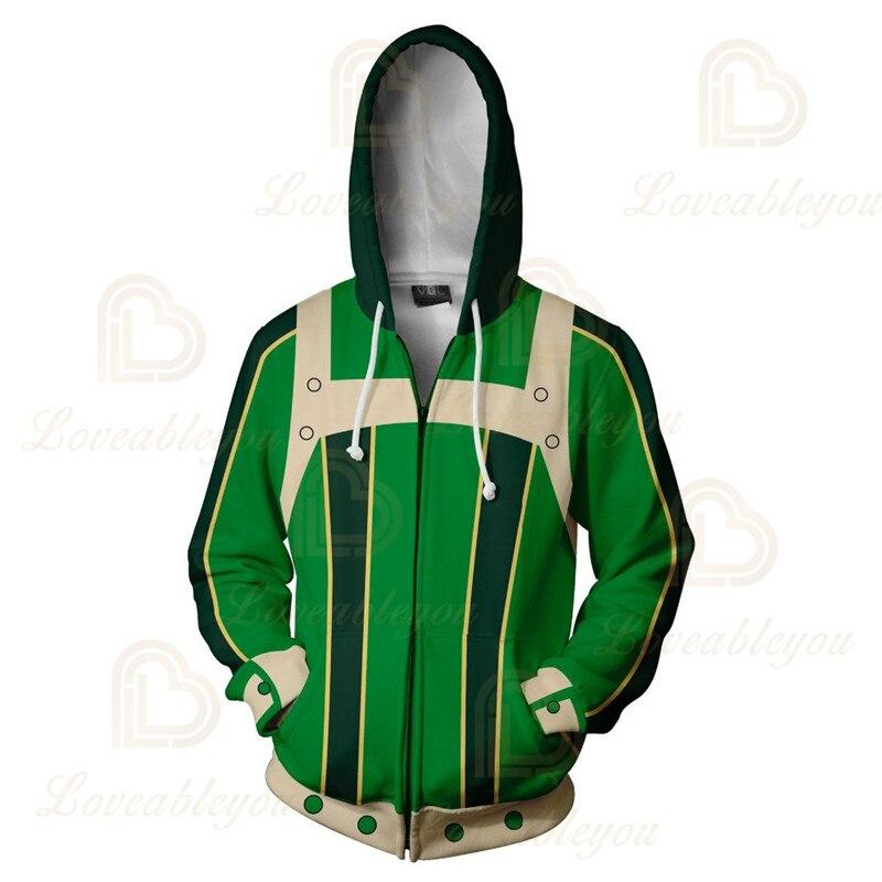 Anime Hoodies Sweatshirts Boku No My Hero Academia Cosplay Costumes Bakugou Todoroki Shoto Spring/Autumn Coat 14