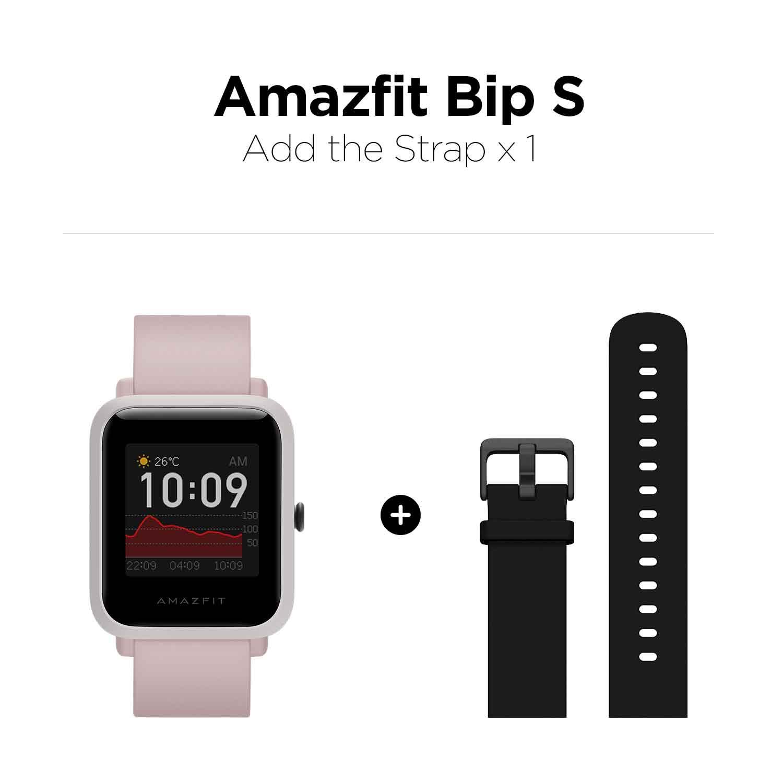 Pink ad black strap