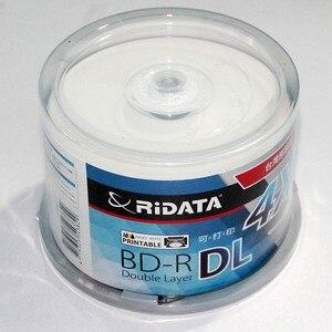 Image 2 - RIDATA/Ritek 50แพ็ค/กล่องA + คุณภาพเปล่าอิงค์เจ็ทพิมพ์Blu Ray DL 2 8x Dual Layer 50GB BD DL Disc