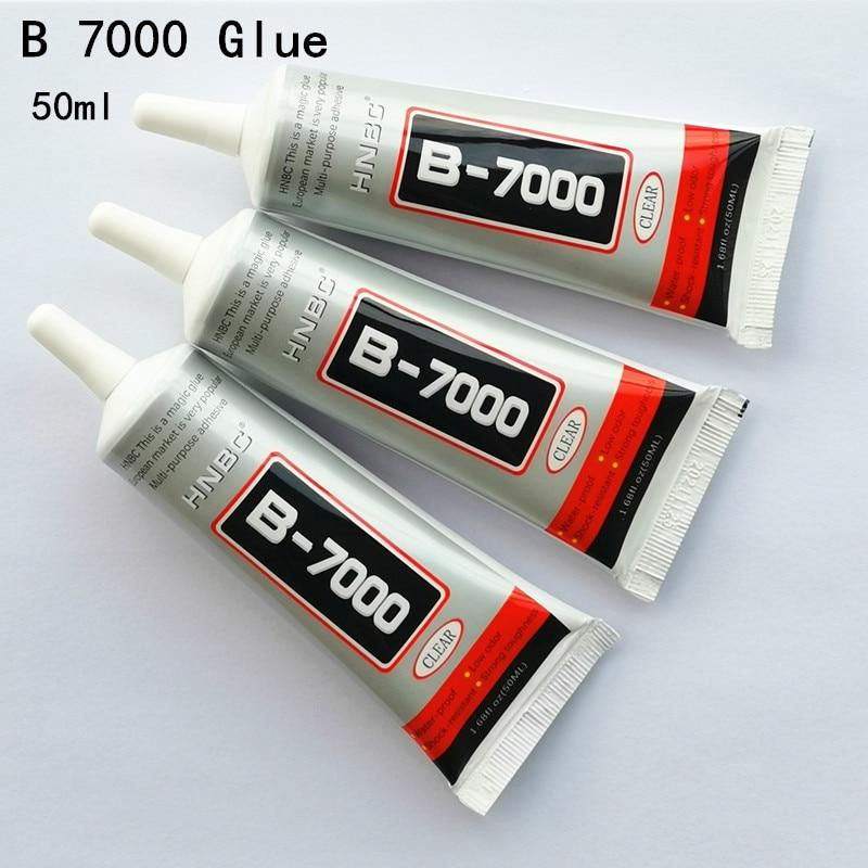 B-7000 Glue B7000 Multi Purpose Glue Adhesive Epoxy Resin Repair Cell Phone LCD Touch Screen Super Glue B 7000 1 Pcs 50ml