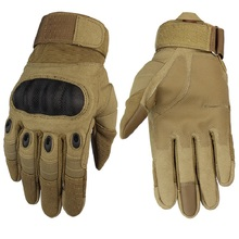 Tactical Gloves Military Men Outdoor Sport Full Finger Cycling Army Paintball Antiskid Wearable Touch Screen Bike