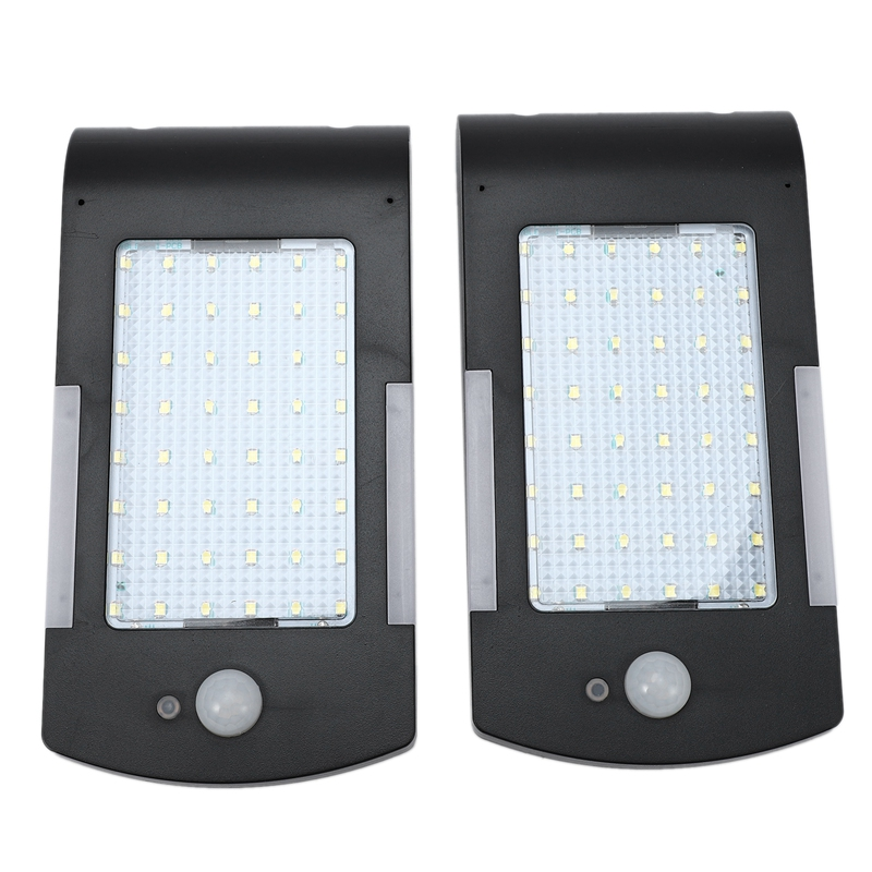 48Led Solar Lights Outdoor Motion Sensor Waterproof Wall Light Wireless Security Night Light with 3 Modes for Driveway Garden St