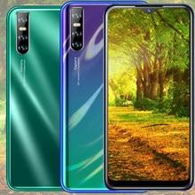 Y9 água gota tela smartphones 4 gb ram 64 gb rom quad core face id desbloqueado telefones celulares android celular celular 13mp versão global
