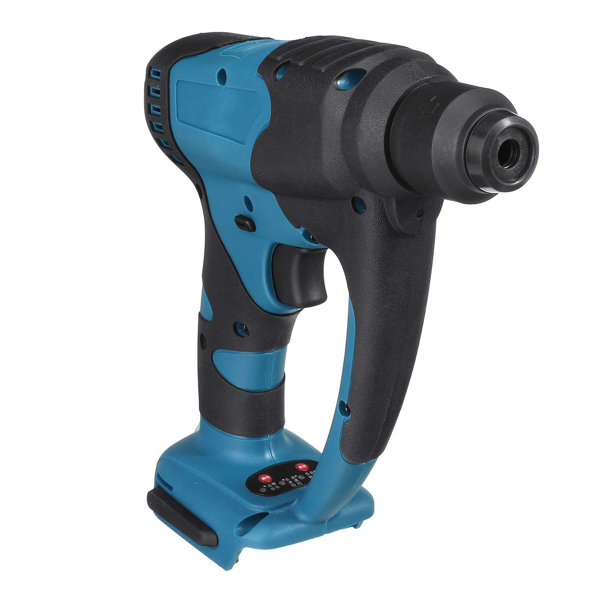 18V Rechargeable Brushless Cordless Rotary Hammer Drill Electric Demolition Hammer Power Impact Drill Adapted To Makita Battery