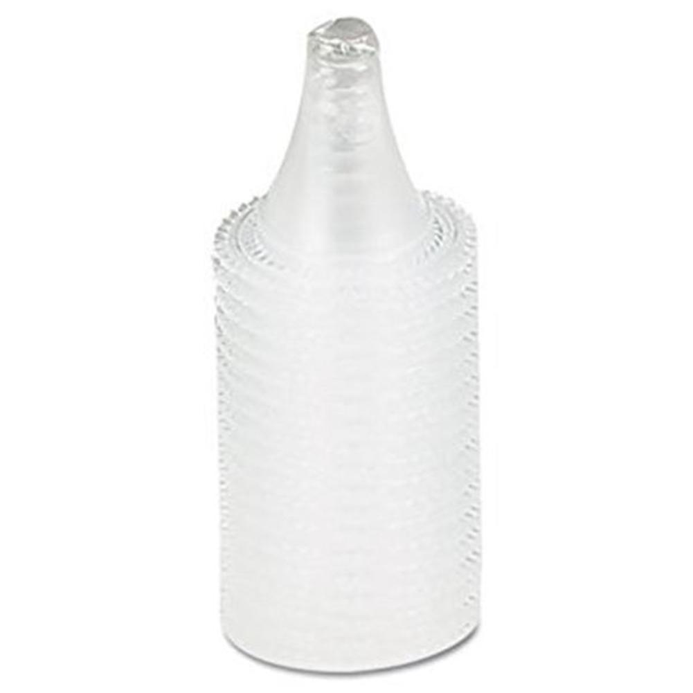 20Pcs Unisex Plastic Soft Ergonomic Earmuffs Non-Contact Ear Thermometer Probe Cover