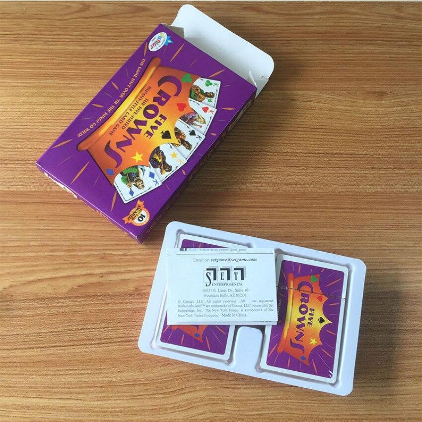 Пять корон с вращающимся, различные интересные, больше настольных карт, игра для друзей, интерактивные Семейные развлечения вечерние чные и...