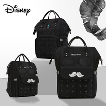 Disney Mickey Minnie Baby USB Diaper Bags  Mommy Bag Backpack Travel Waterproof Stroller Mummy Multifunction