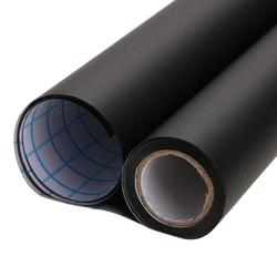 לוח 200*60CM שחור עצמי דבק Blackboard קיר מדבקת עמיד למים נשלף לשימוש חוזר מדבקת פוסטר עם 5 צבע גיר