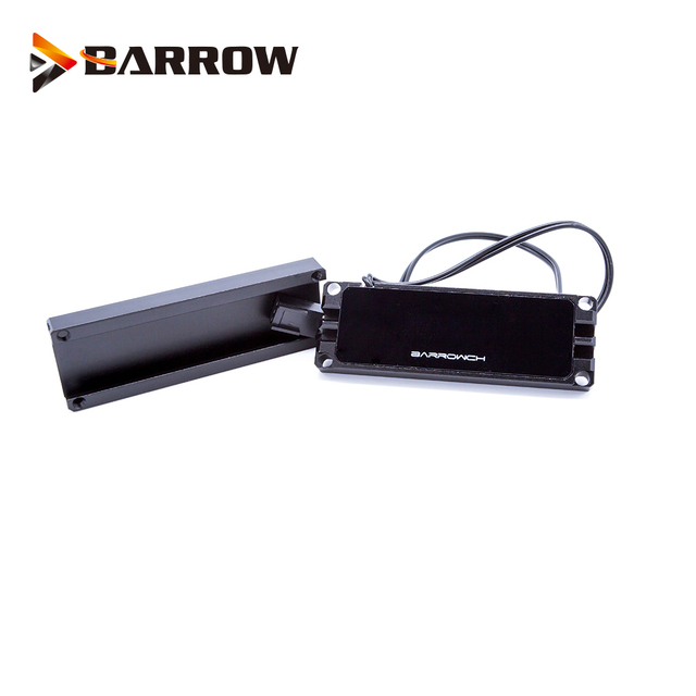 BARROW Thermometer use for 2280 \ 22110 PCI E SSD \ SATA M.2 M2 SSD \ Real time display of temperature / For 80mm/110mm M.2