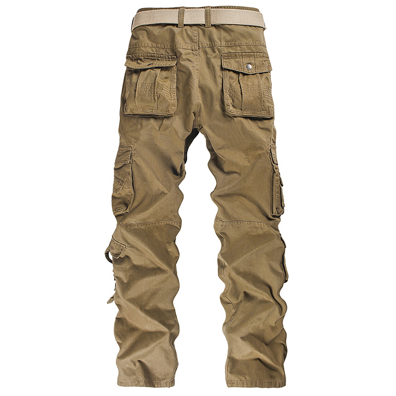 Mens Pants Vintage Loose Cargo Pants Men Streetwear Fashion 2020  Wide Leg Aesthetic Trousers Punk Green Clothes