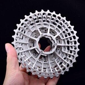 Image 2 - Free Shipping SLR 11s  28T Cassette Racing  Speed Gravel Bike  36T    34T Ultralight K7 V  32T CNC Flywheel