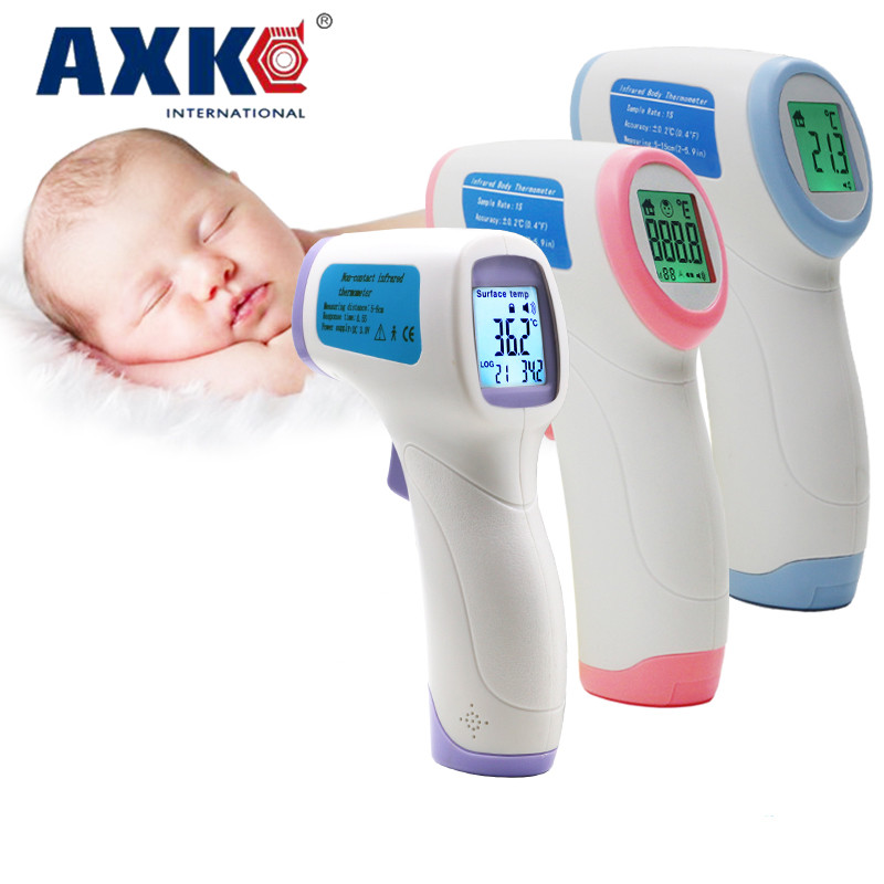 Diagnostic-tool Digital Thermometer For Baby Adult Non Contact Infared Thermometer Body Temperature Measure Color Backlight DT