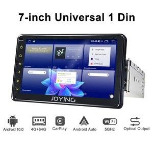 "Image 4 - אוניברסלי 1din אנדרואיד רכב רדיו GPS מולטימדיה נגן אנדרואיד 10.0 HD 7 ""רכב ראש יחידת 4GB + 64GB עם 5G WIFI/4G Carplay BT 5.1"