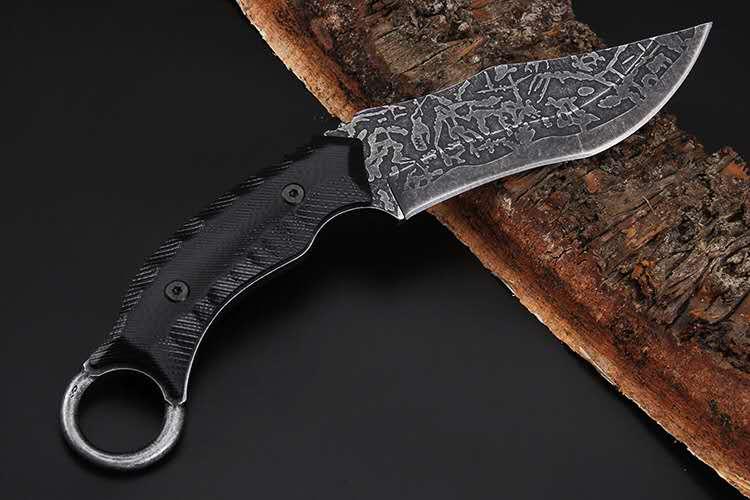 MuddyHunting Combat Knife 2