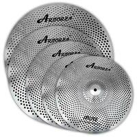 Arborea 5 pieces low volume cymbal set,14\