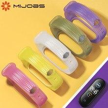 Mi banda 5 Correa para Xiaomi Mi banda 5 NFC Pulseira Miband gota 5 pulsera de silicona Mi banda 5 versión Global Miband gota de accesorios