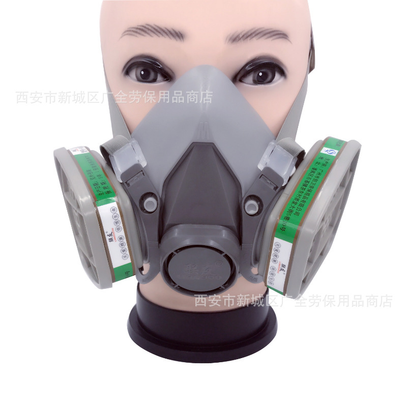 Friends Of 6200 Gas Mask Paint Spraying Only Activated Carbon Gas Mask Chemical Pesticide Formaldehyde Gas Face Mask