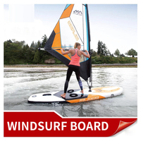 Windsurfing Board Kiteboard SUP Inflatable Sailboard Stand Up Paddle Boards Water Sport Surfing Paddle Board Kayak surfboard HOT
