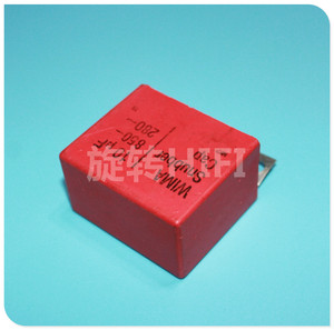 Image 2 - 2 adet kırmızı WIMA snubber mkp 10UF 850V orijinal yeni SNUBBER MKP 106/850V ses 106 sıcak satış 10 UF/850 V 280vac