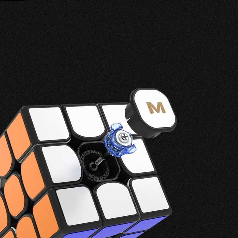 Nuevo cubo magico Yongjun YJ MGC3 Elite magnético Cubo mágico 3x3 stickerless velocidad profesional Cubo mágico MGC3 Elite pegatinas de magnetismo Cubo