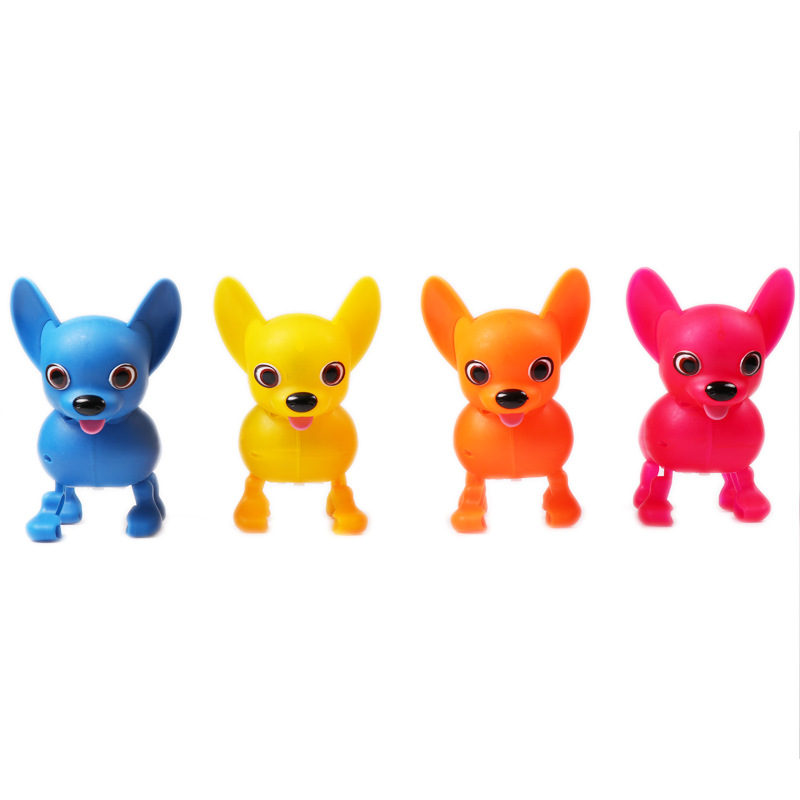 Cross Border Hot Selling Glabrous Chihuahua Electric Toys Forward Dao Tui Gou Strange New Single Doll Toy Dog