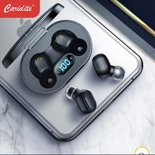 Caridite I7 TWS Bluetooth Earphone New Arrival Wireless Super Bass Stereo Headset LED Digital Display Earbuds Portable Headphone