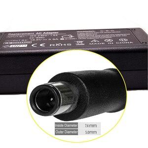 Image 3 - 18.5ボルト3.5a 65ワットacアダプタ用のhpラップトップ充電器hp compaq 6910 p 2230 s dv5 dv6 dv7 dv4 g50 g60 n193 cq43 cq32 cq60 cq61 cq62