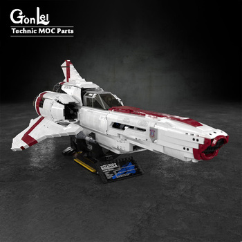 new-the-battlestar-galactica-colonial-viper-mkii-fit-for-moc-9424-technic-moc-building-blocks-bricks-kids-diy-toys-birthday-gift