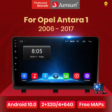 Junsun V1 CarPlay Android 10.0 DSP Radio Multimedia Player De Vídeo Do Carro GPS Auto Estéreo Para Opel Antara 1 2006 - 2017 2 din dvd
