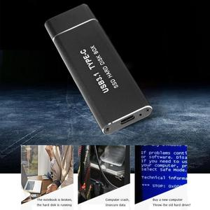 Image 4 - Metal USB3.1 Type C SSD Adapter M.2 NVMe PCI e Solid State Drive Case Computer peripherals