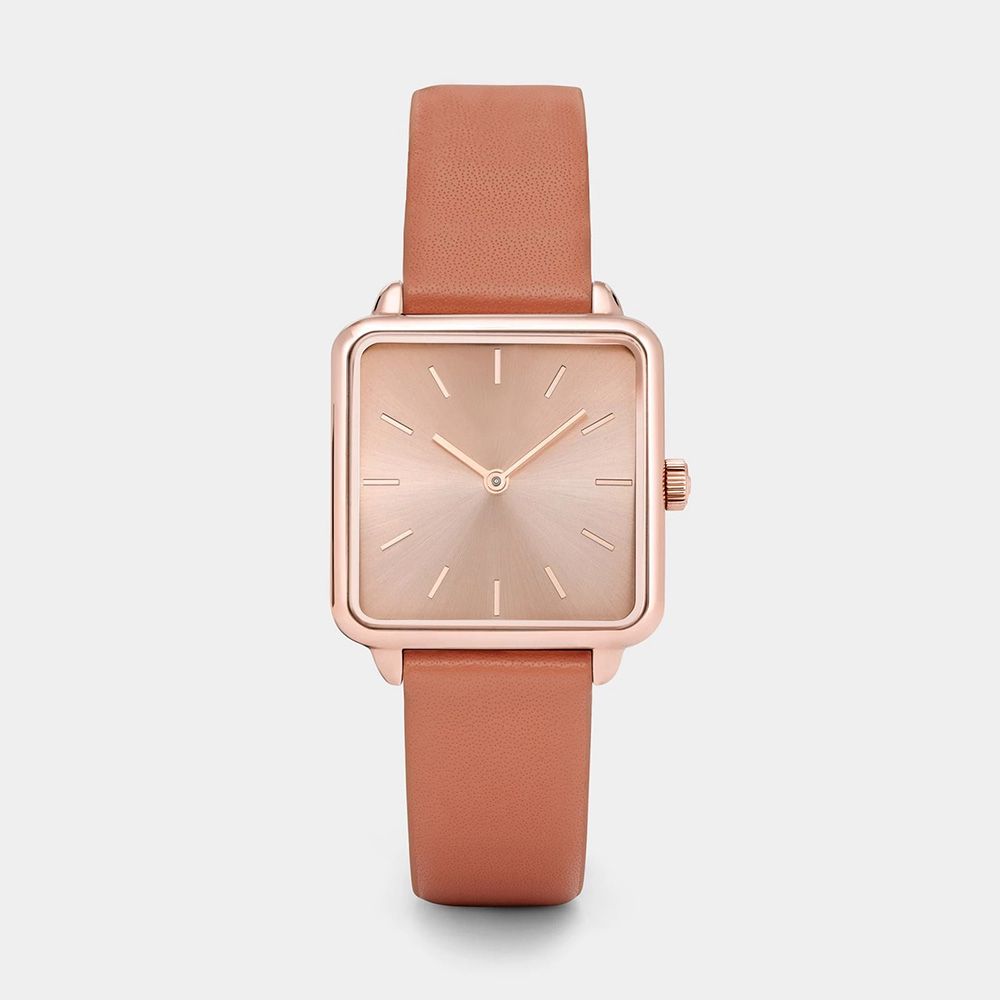 2019 New Fashion Women Watches Top Brand Square Leather Ladies Quartz Watch Reloj Mujer Zegarek Damski Montre Femme Dropshipping